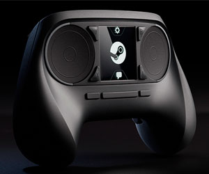 Игровая приставка и контроллер от «Valve»